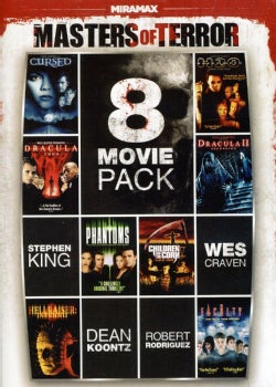8-Film Masters Of Terror Pack Vol. 1 (DVD)