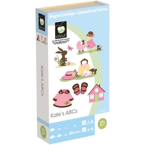 Cricut Kate's ABC's Shape and Font Cartridge