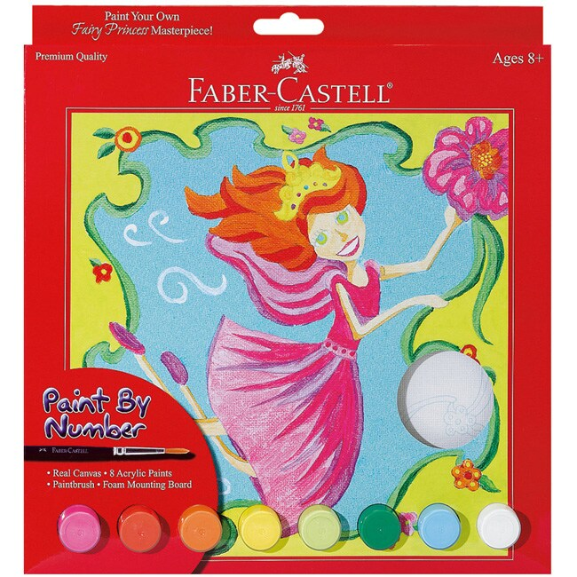 Fairy Princess Paint By Number Kit
