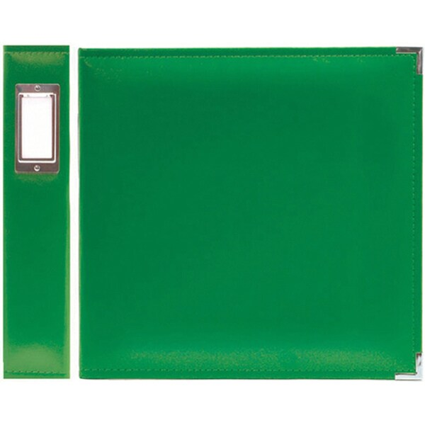 We R Memory Keepers Faux Leather Clover 3-ring Binder