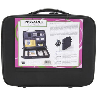"Pissaro Black Artist Portfolio (15"" x 11"" x 3"")"