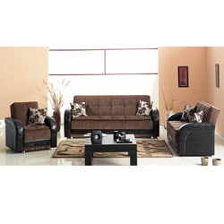 Utica Sofa Loveseat Living Room Set