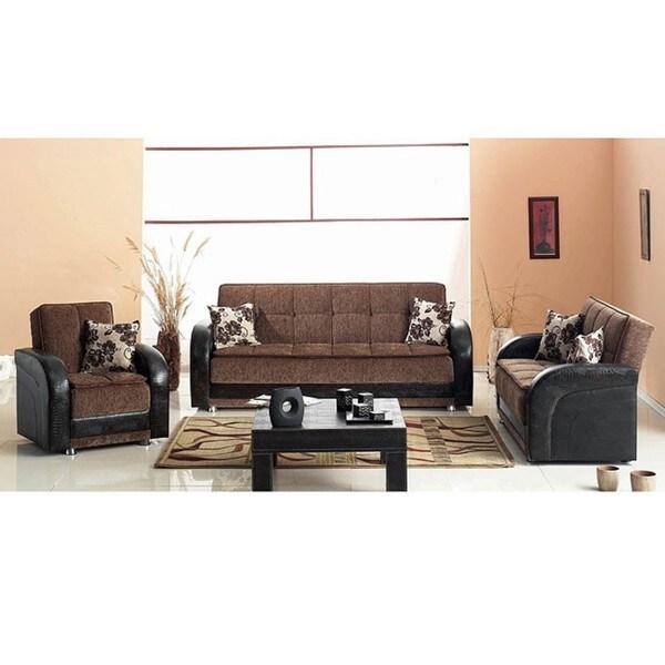 Utica Sofa Loveseat Living Room Set