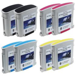 8-piece HP 940XL Black Color Ink Cartridge Combo (Remanufactured)