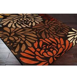 Hand-tufted Bessie Wool Rug (8' x 10')