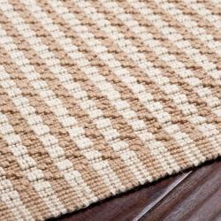 Hand-woven Noire Natural Fiber Jute Rug (3'6 x 5'6)