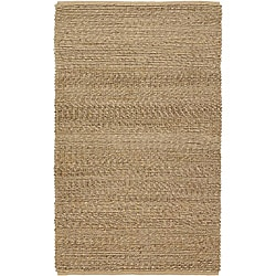 Country Living Hand-Woven Willow Natural Fiber Jute Rug (5' x 8')