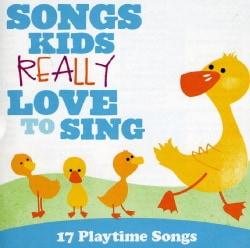 Kids Choir - Songs Kids Really Love To Sing: 17 Playtime Songs