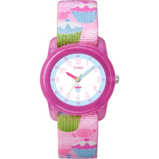 Timex Kids' Youth Sugary Sweetness Elastic Band Watch