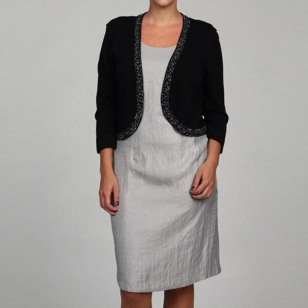 Jessica Howard Women's Plus Bolero Sweater FINAL SALE