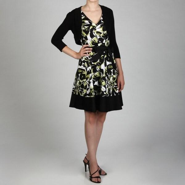 Jessica Howard Petite Multi-seam Frame Hem Dress