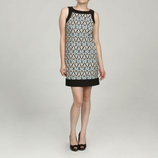 Jessica Howard Petite Blue Patterned Dress