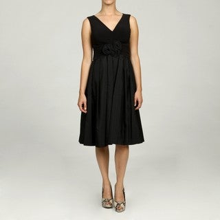 Jessica Howard Petite Ruched Waist Dress FINAL SALE