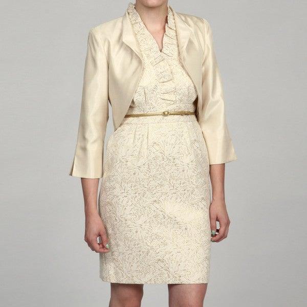 Jessica Howard Women's 3/4-sleeve Jacket