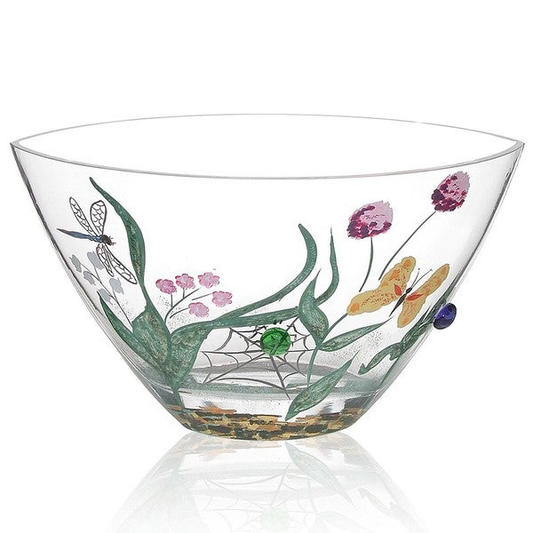 May Flowers Glass Bowl