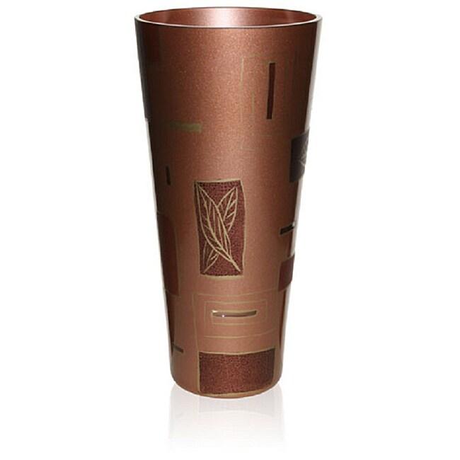 Geometrical Leaves Series Modern Glass Vase