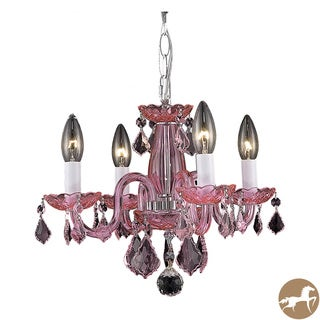 Christopher Knight Home Crystal 62265 4-light Chandelier