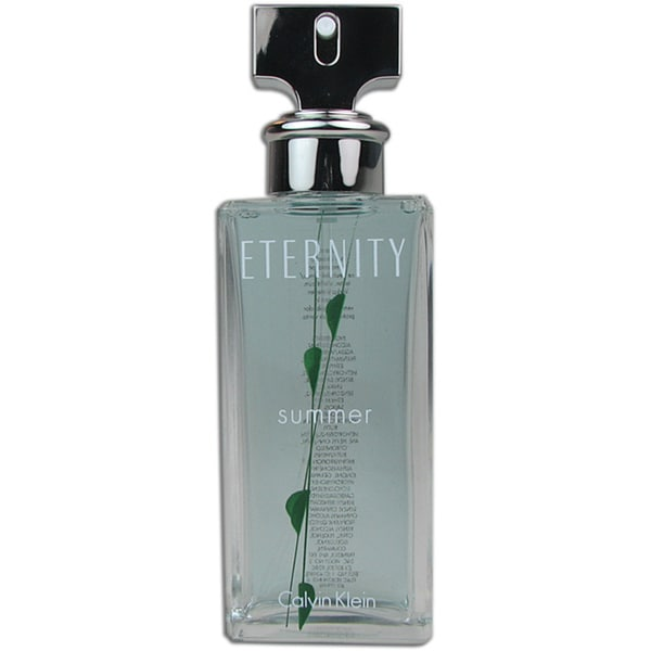 Eternity Summer 2008 for Women 3.4 oz EDP Spray Tester