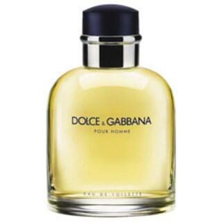 Dolce & Gabbana for Men 4.2-ounce Eau de Toilette Spray (Tester)
