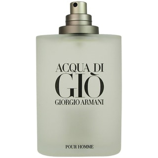 Acqua Di Gio Men by Armani 3.4-ounce Eau de Toilette Spray (Tester)