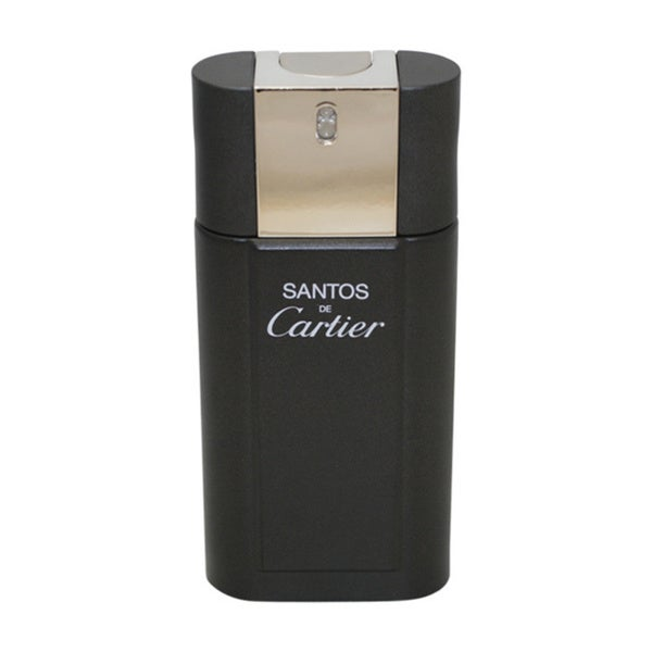 Santos De Cartier by Cartier for Men - 3.3 oz EDT Spray (Tester)
