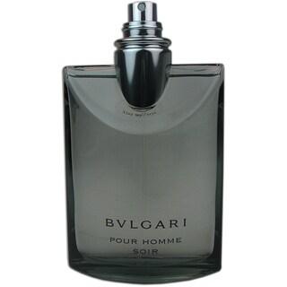 Bvlgari Soir Men's 3.4-ounce Eau de Toilette Spray (Tester)