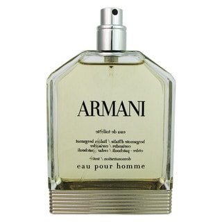 Armani for Men by Giorgio Armani 3.4 oz EDT SP Tester