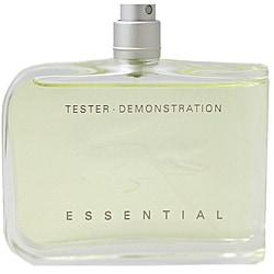 Lacoste Essential for Men 4.2-ounce 125 ml Eau de Toilette SP (Tester)