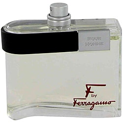 F for Men by Salvatore Ferragamo 3.4-ounce Eau de Toilette SP (Tester)