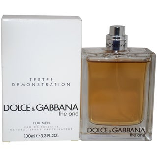Dolce & Gabbana The One for Men 3.3-ounce Eau de Toilette Spray (Tester)