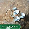 AEB Design Sterling Silver Triple Cup Earrings