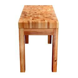 Bradley Furniture Appaloosa Butcher Block Island