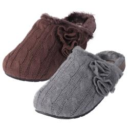 Madden Girl by Steve Madden Women's 'Billiee' Cable Knit Slippers