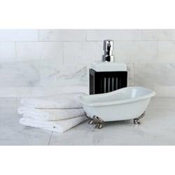 Clawfoot Bathtub Accessory 2-piece Set