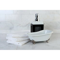 Clawfoot Bathtub Accessory 2-piece Set