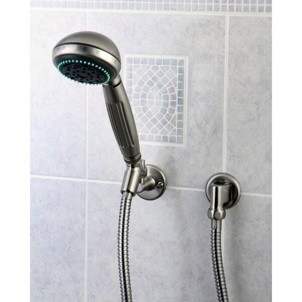 Satin Nickel Finish Massage Hand Shower Combo