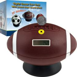 TG Football Digital Coin Counting Bank
