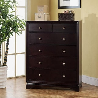 Abbyson Living Kingston 6-drawer Espresso Chest