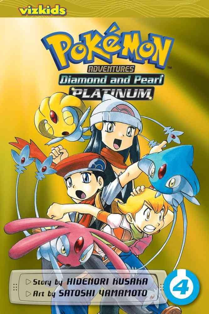 Pokemon Adventures 4: Diamond and Pearl/Platinum (Paperback)