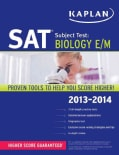 Kaplan SAT Subject Test: Biology E/M 2013-2014 (Paperback)