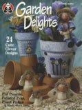 Garden Delights: Pot People, Painted Pots, Plant Pokes & Much More (Paperback)