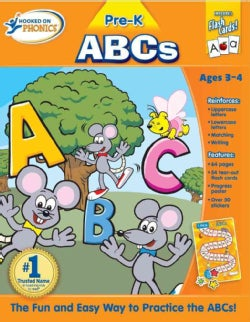 Hooked on Phonics ABCs: Pre-k (Paperback)