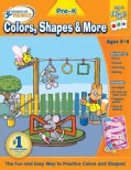 Hooked on Phonics Pre-k Colors, Shapes & More Premium Workbook (Paperback)