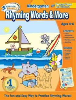 Hooked on Phonics Kindergarten Rhyming Words & More (Paperback)