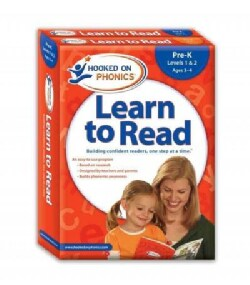 Hooked on Phonics Learn to Read Pre-K Levels 1 & 2, Ages 3-4