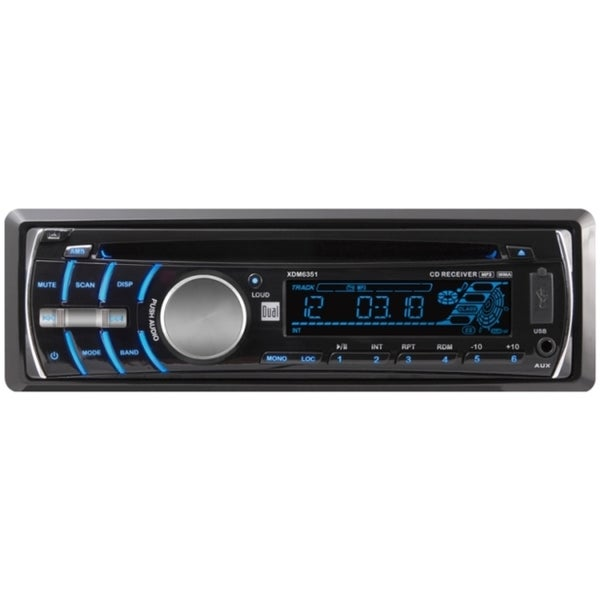 Dual XDM6351 Car CD/MP3 Player - 72 W RMS - Single DIN