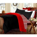 Black/ Red 10-piece Twin XL-size Dorm Room in a Box