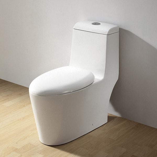 Royal CO-1042 'Hemsley' Ceramic Dual Flush Toilet