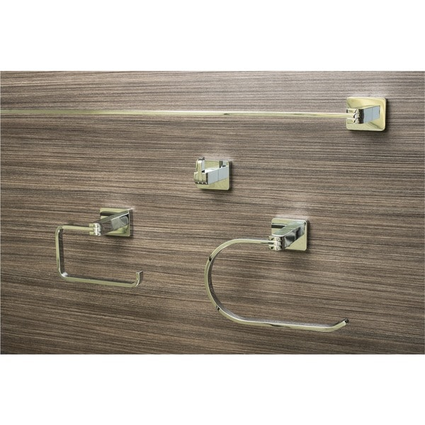 Sure-Loc Modern 4-Piece Bathroom Accessory Set 8239255