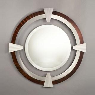 Nova Lighting 'Deco Round' Round Mirror
